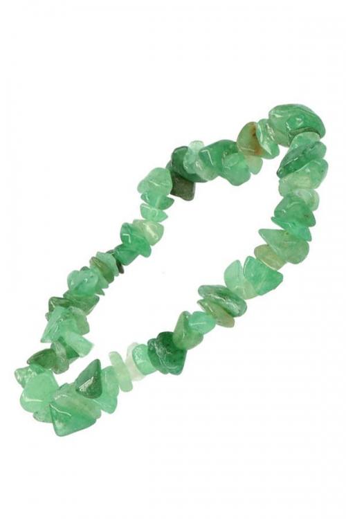 Aventurijn splitarmband, 18 cm, aventurine chips bracelet, edelsteen armband, edelstenen, kopen, arnhem, armbandje, spirituele armband, spiritueel armbandje