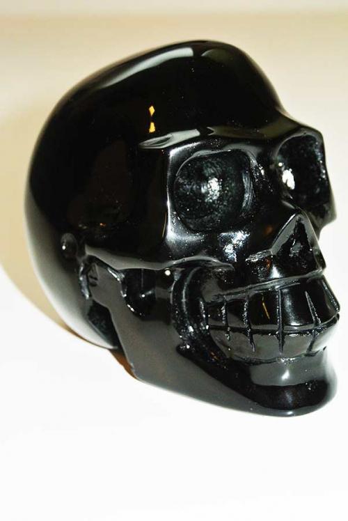 crystal skull obsidiaan, kristallen obsidiaan schedel
