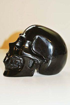 Crystal Skull Obsidiaan