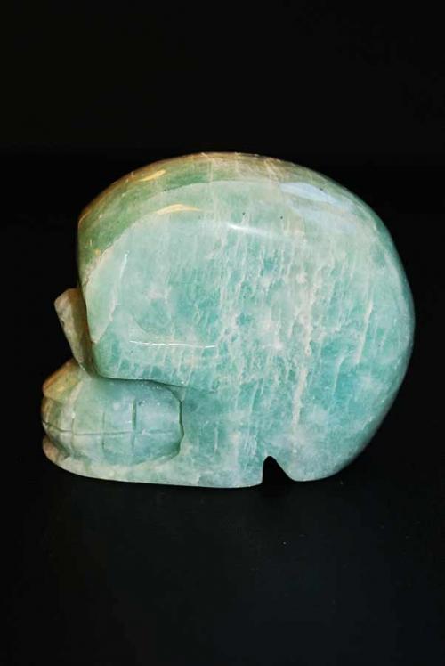 amazoniet skull, amazoniet kristallen schedel, traveller