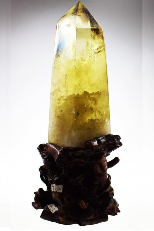 citrien punt, citrine column, citrine, citrien, kopen, obelisk, gefacetteerd, facet, kracht punt, 3e chakra, zon, geel, citrien punt met voet