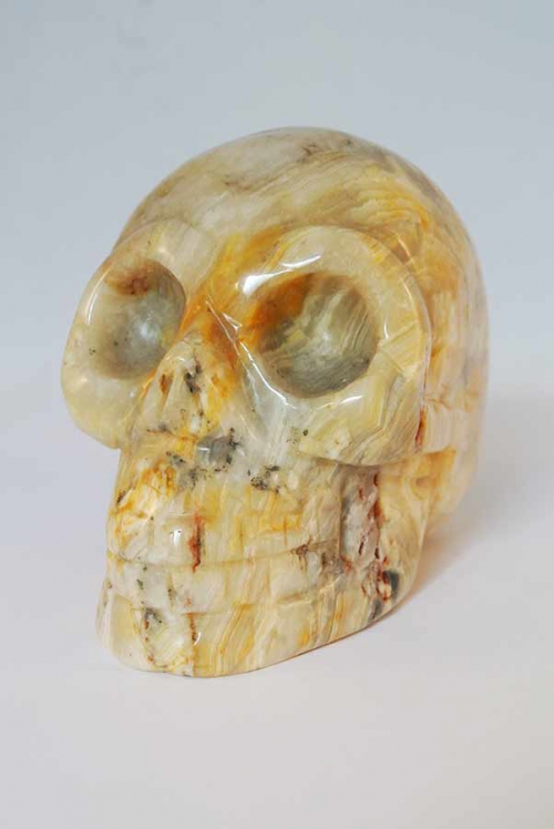 Crazy lace jaspis kristallen schedel, crystal skull, jasper, crazy lace, kopen