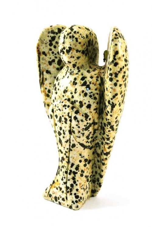 Dalmatiër Jaspis edelsteen engel, edelstenen engel, edelsteen engel, dalmatische steen, kristallen engel, kopen