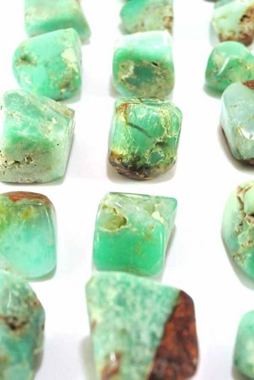 chrysopraas kopen, chrysopraas steen, chrysopraas australie, chrysopraas goedkoop, betekenis, werking, hart chakra,