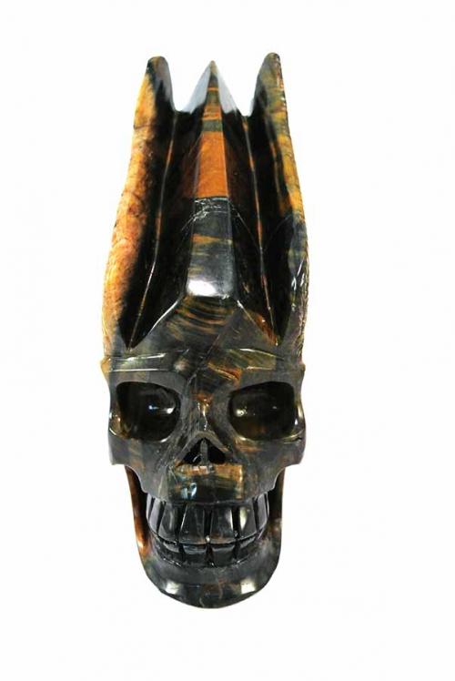 helderzien, valkenoog, falcon eye, tiger eye, tijgeroog, valkenoog kristallen schedel, crystal skull, vleugels, winged skull