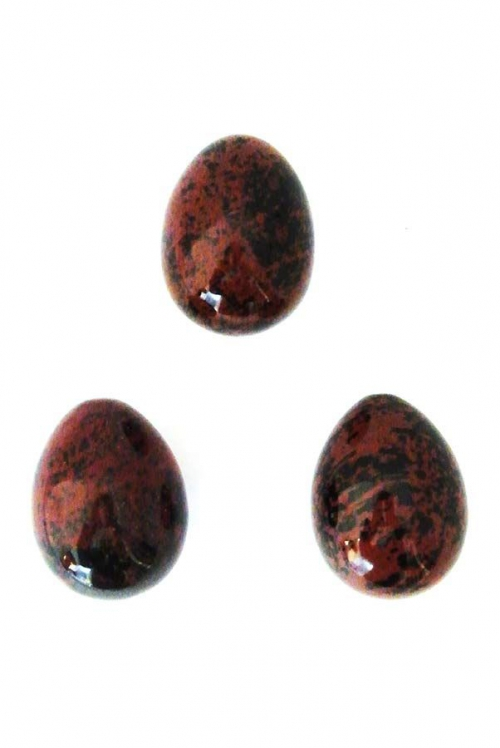 Mahonie Obsidiaan Yoni Ei, vagina, yoni egg, mahogany obsidian
