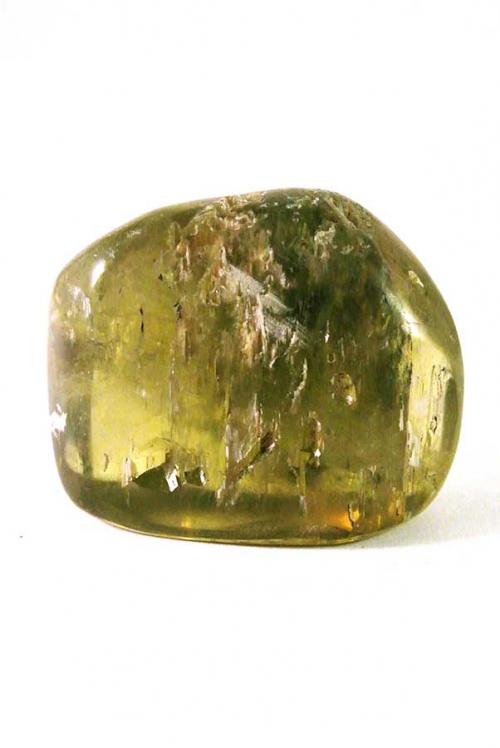 gepolijst, trommelsteen, groene hiddeniet, groene kunziet, engelen steen, hart chakra, 4e chakra, kopen