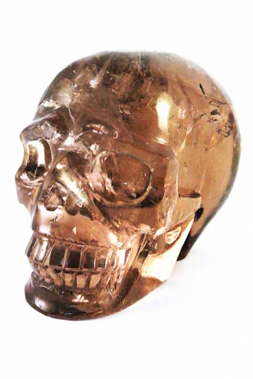 rookkwarts crystal skull, rookkwarts kristallen schedel, smokey quartz crystal skull, morion, kristallen schedel kopen, rookkwarts realistische schedel