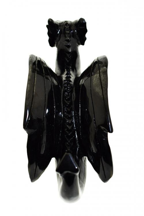 obsidiaan drakenschedel, kristallen draak, obsidian dragon skull, crystal skull, kristallen draken
