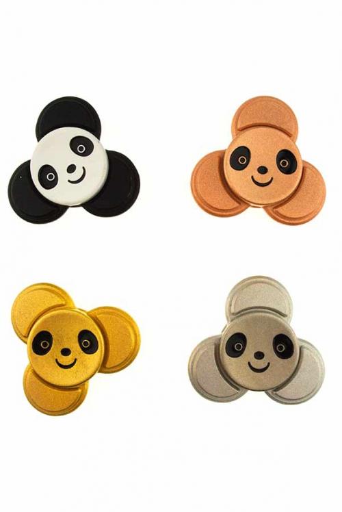 panda spinner, panda wedstrijd spinner, fidget, kopen, hoge kwaliteit, metaal