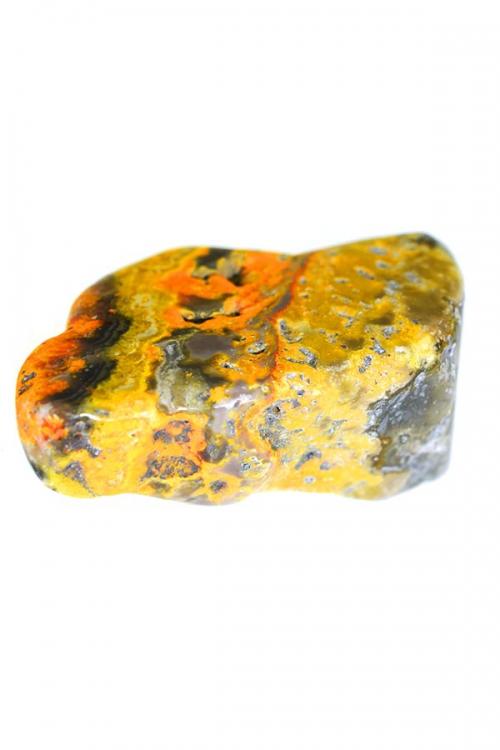 bumblebee jaspis, steen, knuffelsteen, trommelsteen, gepolijst, eclips steen, opiment, orpiment, jaspis, oranje jaspis, kopen, arnhem, happy spirit, edelstenen, edelsteen, indonesie