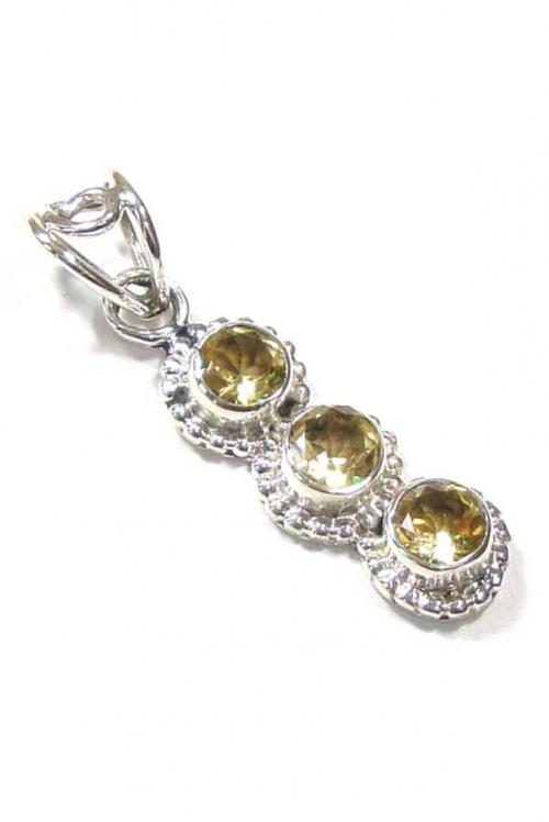 citrien hanger zilver, zilveren citrien hanger, citrine pendant, kop0en edelsteenhanger, zilveren hanger