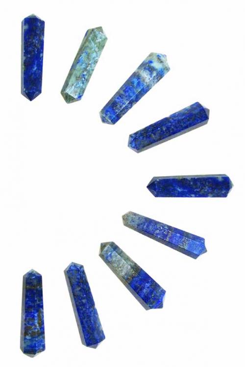 Lapis Lazuli dubbelpunten, dubbeleinder, dubbeleinders, dubbele punt, punters, punten, lapis lazule, lazuli, kopen, edelstenen, mineralen, arnhem