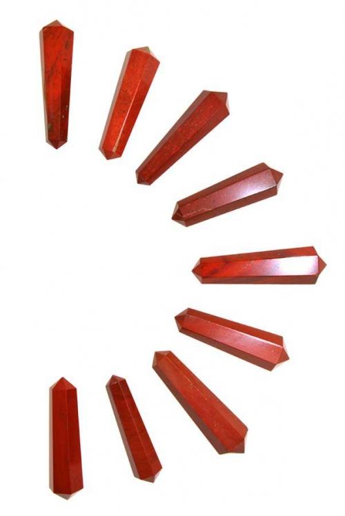 rode jaspis, red jasper, rode jaspis dubbelpunten, dubbele punt, dubbeleinder, dubbelpunt, kopen, grid, healing, 1e chakra, aarde