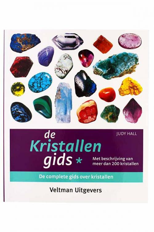 De kristallen gids deel 1 - judy hall, edelstenen boek, informatie edelsteen, mineralen