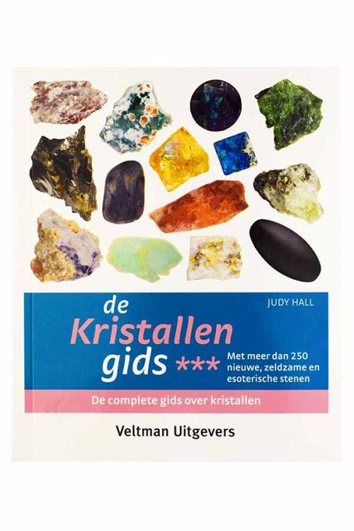 De kristallen gids deel 3 - judy hall, edelstenen boek, informatie edelsteen, mineralen