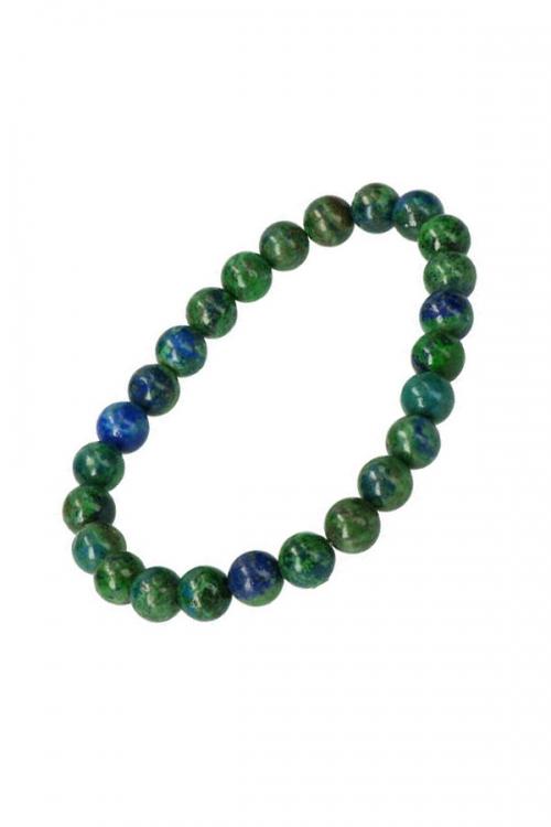 Azuriet met Malachiet armband, azuurmalachiet armband, azurite with malachite bracelet, kopen, edelsteen armband, edelstenen armbanden, bijzonder