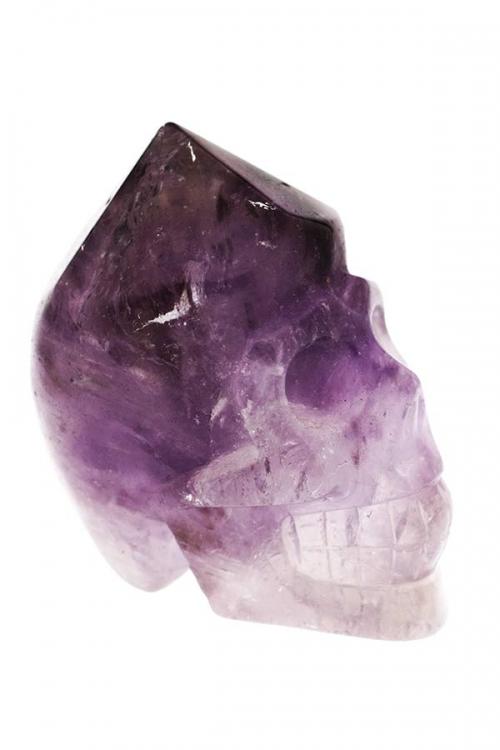 Amethist punt kristallen schedel, amethist schedel, amethist kristallen schedel, amethyst crystal skull, kopen, realistisch