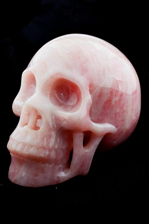 Rozenkwarts grote realistische kristallen schedel, rozenkwarts crystal skull, rozenkwarts schedel, rozenkwarts kristallen schedel, rozenkwarts, kopen, bestellen, rozenkwarts skull, rozenkwarts kristallen schedel