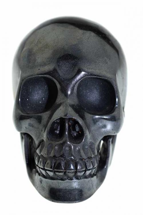 hematiet, hematiet kristallen schedel, hematiet realistische kristallen schedel, kopen, hematite, arnhem, crystal skull