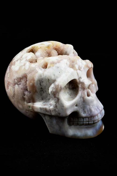 Agaat geode kristallen schedel, agaat geode schedel, kristallen schedel, crystal skull, kopen, agate crystal skull