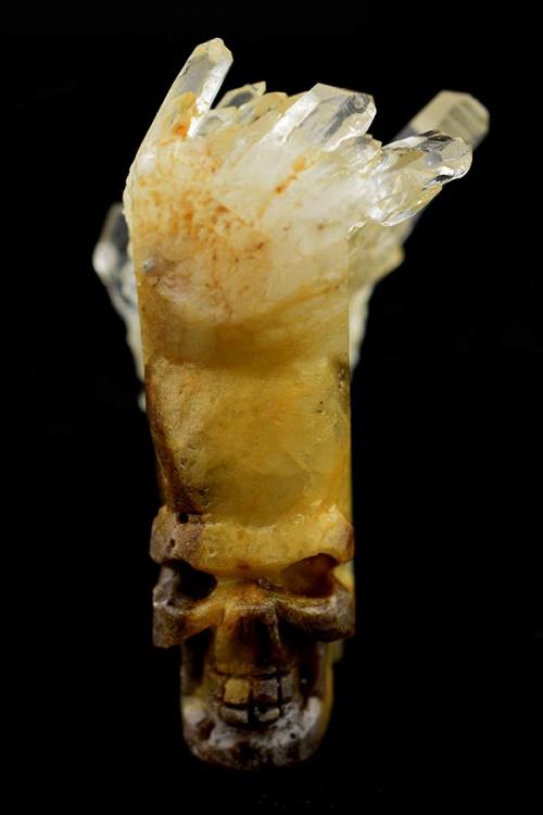 cluster skull, bergkristal cluster skull, ruwe bergkristal schedel, edelstenen, kristallen schedel, kopen, crystal skull