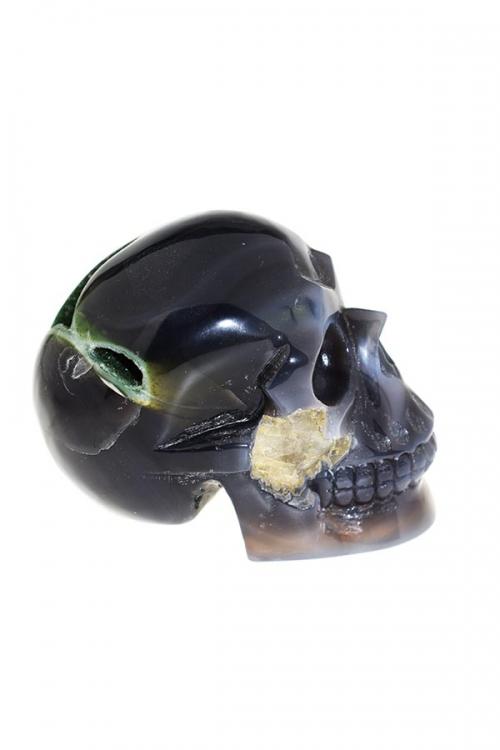 chloriet fantoom kristallen schedel, Chloriet fantoom geode kristallen schedel, chlorite, kopen, geode schedel, crystal skull