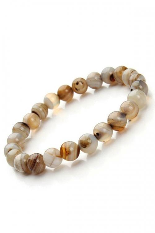 Dendriet armband, powerbead agaat, edelsteen armband, edelstenen armband, kopen, agate, agaat, dendrite, 8 mm