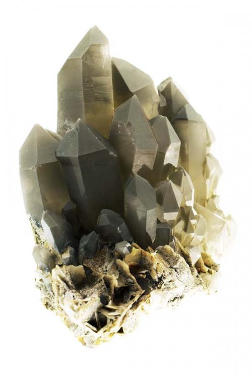 Chloriet cluster, 20 cm, 3.4 kilo, Skardu, chlorite, chloriet fantoom, bergkristal,