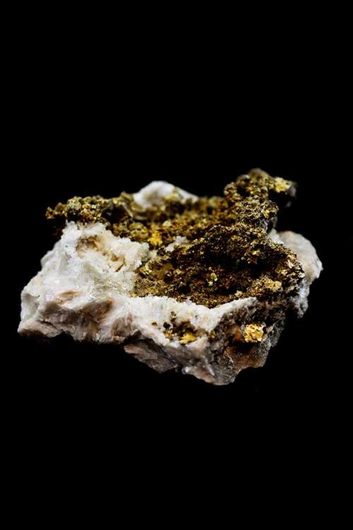 Pyriet op Barriet, 16 cm, 1.74 kilo, Mibladen, Marokko, kopen, bariet, mineraal, mineralen, edelstenen, edelsteen, kopen, ruw