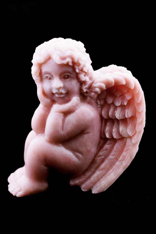 Andes Opaal engel, 11 cm, 414 gram, edelsteen engel, opaal engel, angel, gemstone, kopen