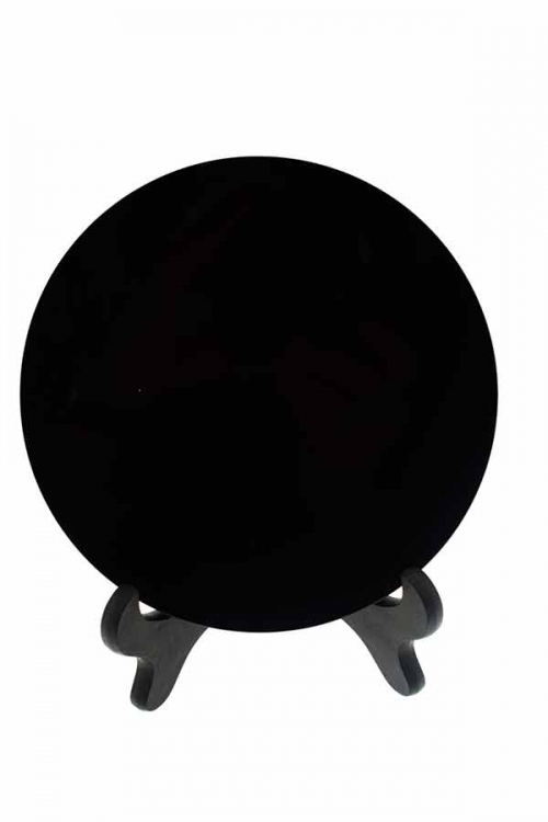 Obsidiaan Heksenspiegel, black witches mirror, zwarte heksen spiegel, kopen, wicca, rituelen