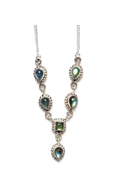 Labradoriet zilveren ketting, 925 sterling, labradorite, kopen, sieraden, sieraad, juwelen, edelstenen, edelsteen