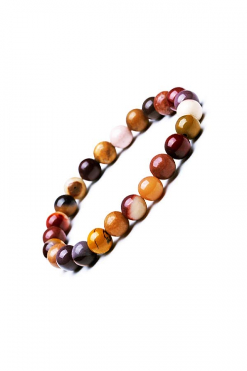 mookaite, mookaiet armband, 8 mm, powerbead, edelsteen armband, edelstenen armband, edelsteen sieraad, sieraden, bracelet, kopen