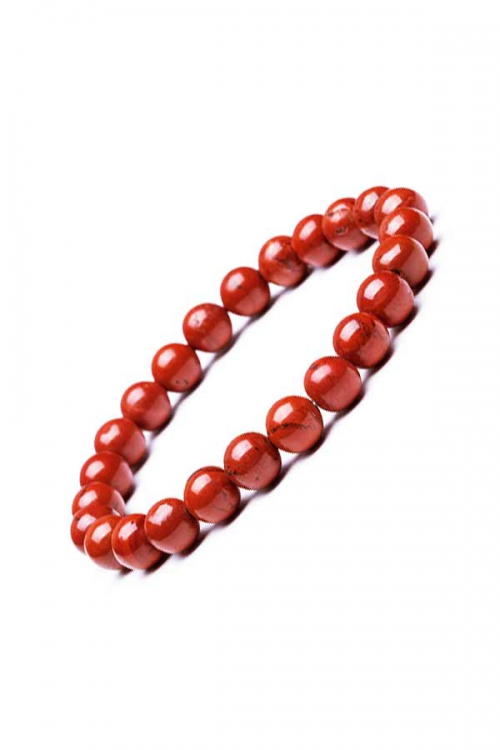 Rode Jaspis armband, 8 mm, powerbead, edelsteen armband, edelstenen armband, edelsteen sieraad, sieraden, bracelet, kopen
