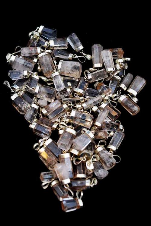 Imperiaal Topaas hanger, 925 sterling zilver, topaas edelsteen hanger, pendant, kopen, topaz, edelstenen, mineraal, mineralen