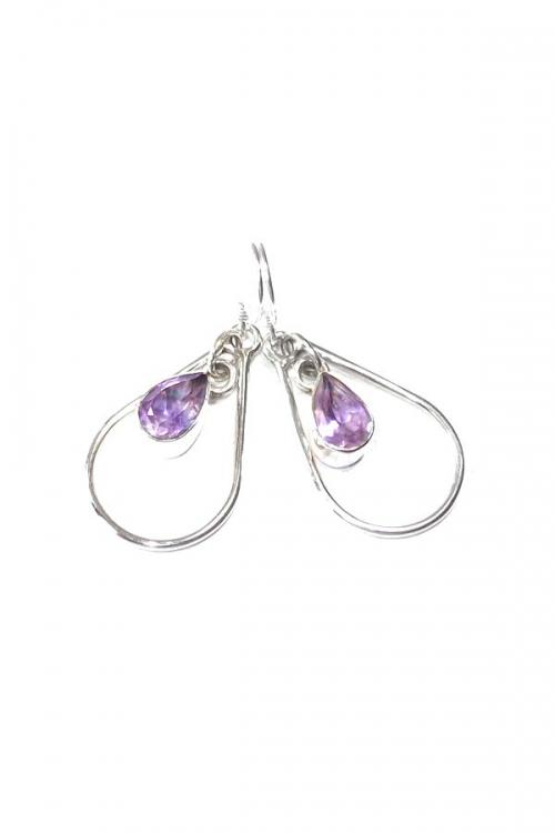 amethist oorbellen, oorbel, kopen, amethyst, sieraad, sieraden, juwelen, juweel, kopen, zilver