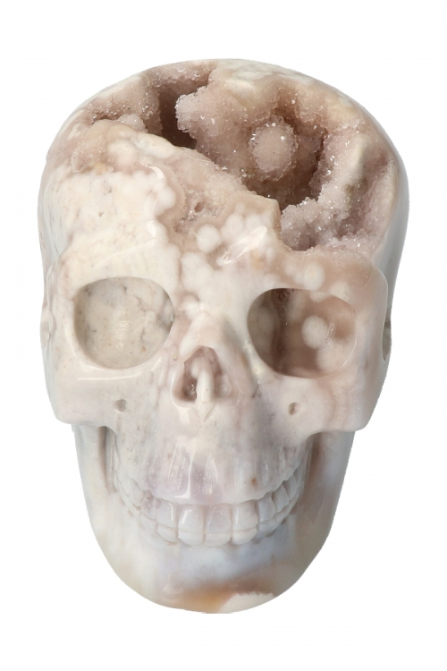 Bergkristal met Agaat geode kristallen schedel, amethist kristallen schedel, bergkristal schedel, agaat schedel, kopen, geode kristallen schedel, crystal skull
