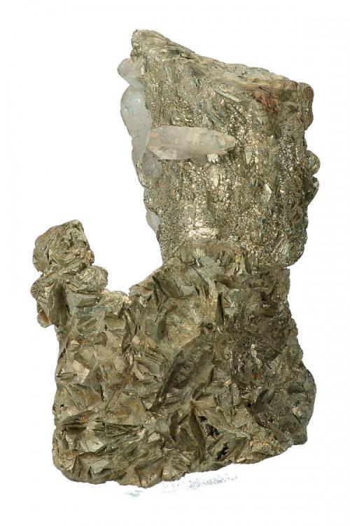 Pyriet met Bariet en Galleniet, pyrite, barriet, kopen, verzamelaar, collector, speciaal, mineralen, mineraal, specimen
