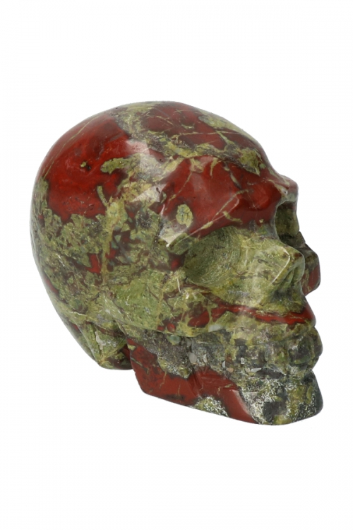 Drakensteen kristallen schedel drakenhoeder, crystal skull, hoofd, edelstenen, kopen, dragon stone, drakenbloedsteen, bastiet