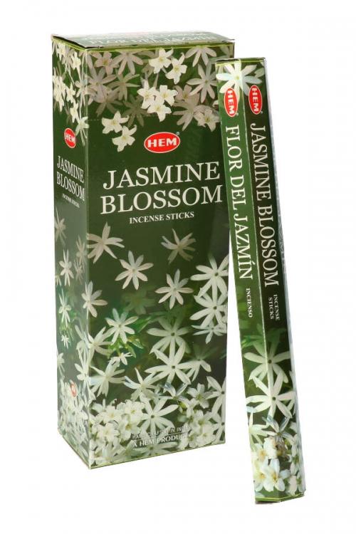 Jasmijn wierook (Jasmine) HEM, wierook stokken, stokjes, HEM, hexagonaal, incense, kopen