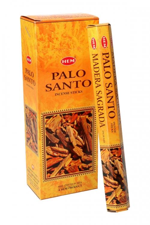 Palo Santo wierook (Heilig Hout) HEM, wierook stokken, stokjes, HEM, hexagonaal, incense, kopen