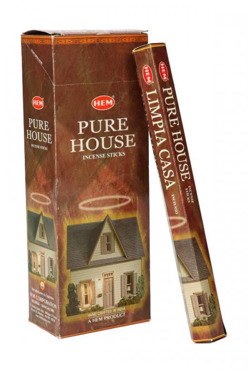 Pure House wierook HEM, wierook stokken, stokjes, HEM, hexagonaal, incense, kopen