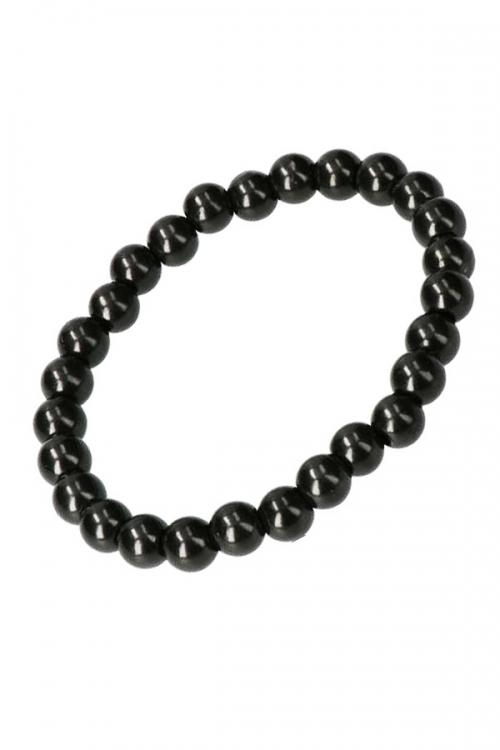 Shungiet armband, 8 mm, 19 cm, shungite bracelet, shungit, powerbead, kopen,