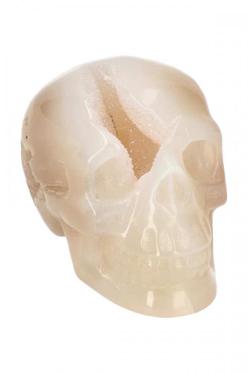 agaat kristallen schedel, crystal skull, agate, kopen, edelstenen, edelsteen