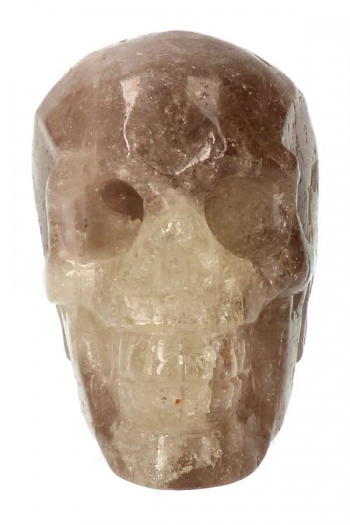 rookkwarts kristallen schedel, smokey quartz crystal skull, morion, kristallen schedel kopen