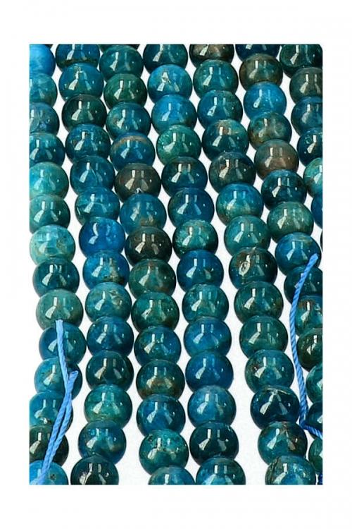 Apatiet kralen 8 mm, streng 40 cm, circa 49 kralen, ZELF SIERADEN MAKEN, EDELSTEEN SIERAAD, JUWELEN, KOPEN, FINDINGS, JEWELRY, APATITE