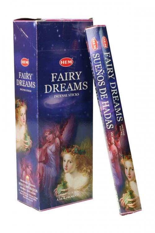 Fairy Dreams wierook HEM, wierook stokken, stokjes, HEM, hexagonaal, incense, kopen