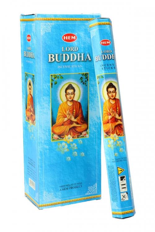 Lord Buddha wierook (boeddha) HEM, wierook stokken, stokjes, HEM, hexagonaal, incense, kopen