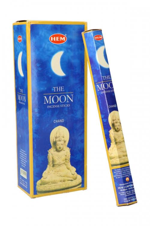 The Moon wierook, HEM, wierook stokken, stokjes, HEM, hexagonaal, incense, kopen